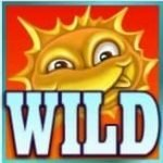 Wild symbol from casino slot game Flowers