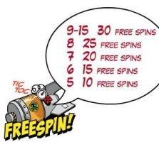 Freispiel-Symbol des kostenlosen Casino-Spielautomaten Jack Hammer vs. Evil Dr. Wuten