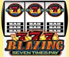 Bonus-Symbol des Casino-Spielautomaten Hot Shot