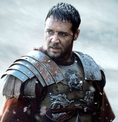 Russell Crowe als Gladiator