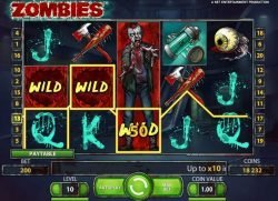 Online-Casino-Spielautomat Zombies