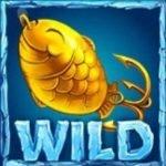 Sticky Wild-Symbol des koszenlosen Online-Spielautomaten Lucky Angler