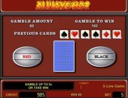 Kostenloser Casino-Spielautomat Always Hot - Zocker-Modus