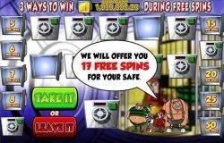 Online-Casino-Spielautomat Cop the Lot ohne Einzahlung