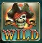 Wild-Symbol des Online-Casino-Spielautomaten Ghost Pirates