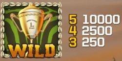 Wild-Symbol des kostenlosen Spielautomaten Jungle Games