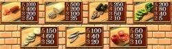 Kostenloser Casino-Spielautomat - Mamma Mia! - Auszahlungstabelle II
