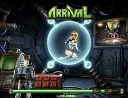 Bonus-Spiel des Online-Casino-Spielautomaten Arrival
