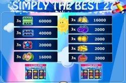Kostenloser Casino-Spielautomat Simply the Best 27