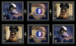 A Night in Paris - Bonusspiel-Symbole des kostenlosen Spielautomaten