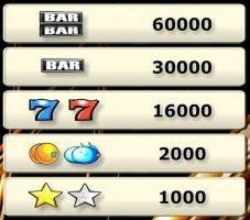 Online-Casino-Spielautomat Bonus Star
