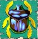Kostenloser Online-Spielautomat Cleopatra - das Scatter-Symbol