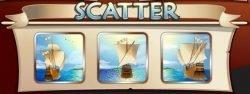 Scatter-Symbol des kostenlosen Onine-Spielautomaten Columbus