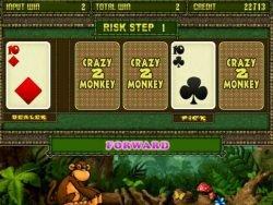 Online-Spielautomat Crazy Monkey II