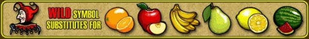 Auszahlungstabelle des Wild-Symbols Fruit Cocktail 2