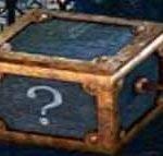 Das Symbol der mysteriösen Schachtel vom kostenlosen Casino-Spielautomaten House of Fun