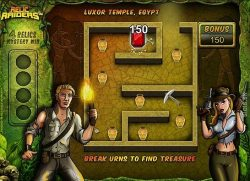 Bonusspiel des kostzenlosen Casino-Spielautomaten Relic Raiders