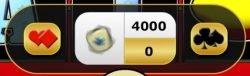 Zocker-Modus des Casino-Spielautomaten Ring of Fire XL
