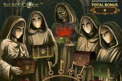 Bonusspiel des Online-Casino-Spielautomaten Secret Code