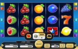 Zocker-Modus des kostenlosen Online-Casino-Spielautomaten Simply Gold II