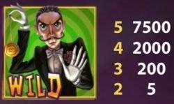 Wild-Symbol des kostenlosen Online-Spielautomaten Simsalabim