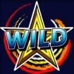 Wild-Symbol des Casino-Spielautomaten Spinning Stars