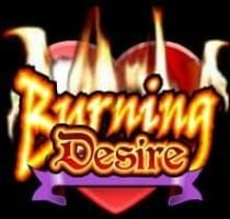 Wild-Symbol des kostenlosen Spielautomaten Burning Desire