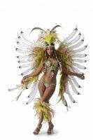Karnelval-Tänzer des Online-Spielautomaten Carnaval