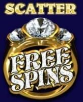 Scatter-Symbol des Casino-Spielautomaten Reel Gems