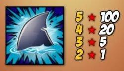 Die Haifischflosse - Das Scatter-Symbol