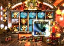 Bild des Online-Spielautomaten Curious Machine