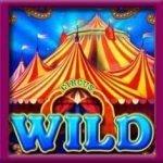 Wild-Symbol des Online-Slot-Spiels Circus Brilliant