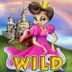 Wild-Symbol des Online-Automatenspiels Rainbow Queen