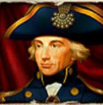 Online-Spielautomat Admiral Nelson - Wild-Symbol