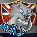 Online-Automatenspiel Best of British - Wild-Symbol