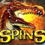 Freispiel-Symbol - Online-Casino-Spielautomat Heroic