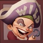 Wild-Symbol aus dem Spielautomat Hook's Heroes
