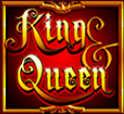 Joker Symbolvon Spielautomaten King & Queen