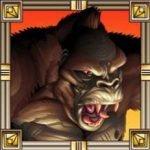 Online-Spielautomat King Kong - Joker-Symbol