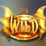 Wild-Symbol vom gratis Dragons Rock Online-Slot