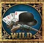 Wild-Symbol des Maverick Saloon Online-Slots von GamesOS