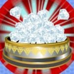Freispiel-Symbol vom Kitty Glitter Online Slot-Spiel