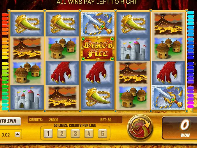 Spiele Dracos Fire - Video Slots Online