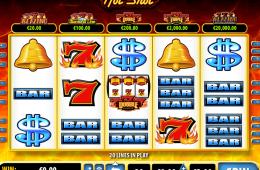 Kostenloser Online Spielautomat Hot Shot