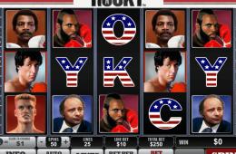 Kostenlos Spielautomat Rocky spielen