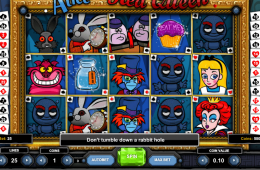 Bid vom kostenlosen Onlines Spielautomat Alice and the Red Queen