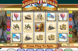 Bild vom kostenlosen online Spielautomat Around the World