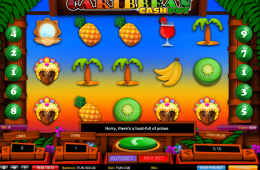 Bild vom kostenlosen online Spielautomat Caribbean Cashpot