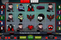 Bild vom kostenlosen online Spielautomat Dracula´s Blood Bank