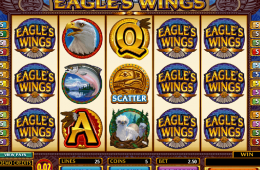 Bild des kostenlosen Eagle's Wings Online-Automatenspiels